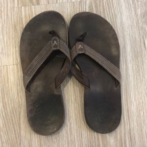Women's size 8 American eagle leather sandals